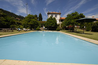 Urlaub am Pool frisches Quellwasser Portugal Quinta de Vermil