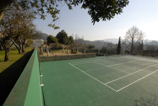 Sauna, Fitness, Tennis - Urlaub mit Pool, Herrenhaus in Portugal